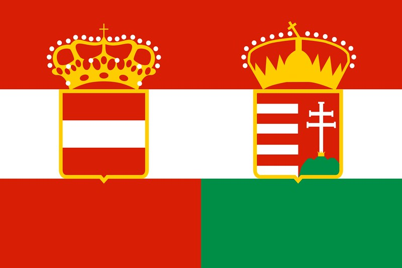 Civil Ensign of Austria-Hungary