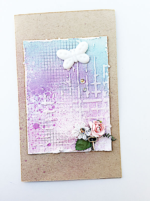 Purple-mixed-media-card