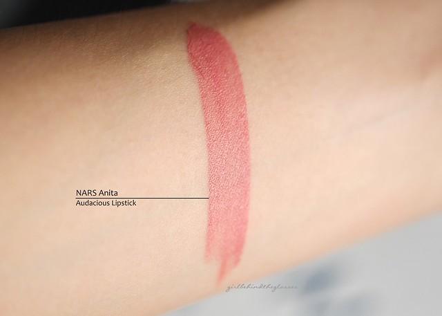 NARS Anita lipstick swatch