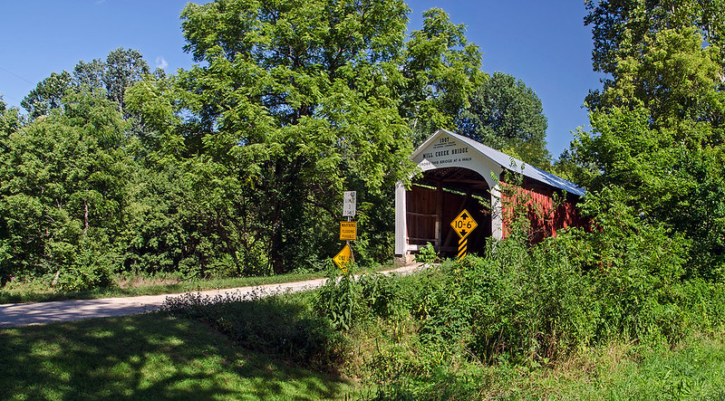 A Tree Covered Bridge