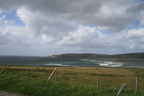 ireland sea clouds landscape view countymayo broadhaven