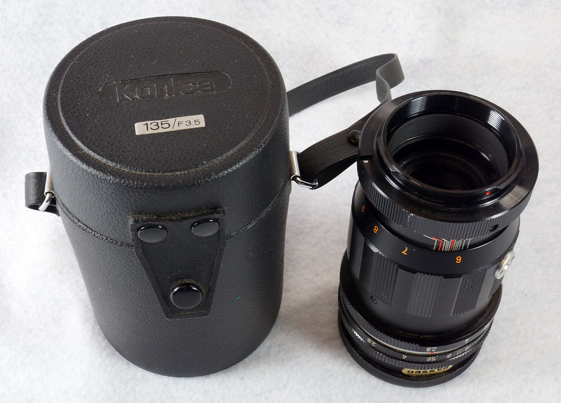 RD15090 Vintage Vemar Telephoto Zoom Camera Lens 1_2.8 f = 135mm No. H50403 Ricoh Mount DSC07436