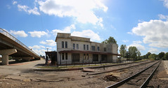 0U1A3690 Ft Smith NHS - Frisco Station, panorama