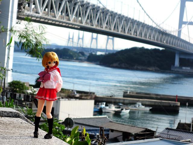 アリサと瀬戸大橋, Nikon COOLPIX P330