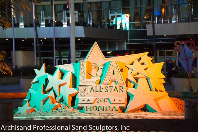 NHL All Star sand sculpture 2017-4379