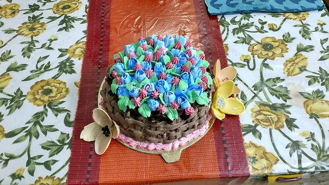 Cake by Remya Menon of Tastination