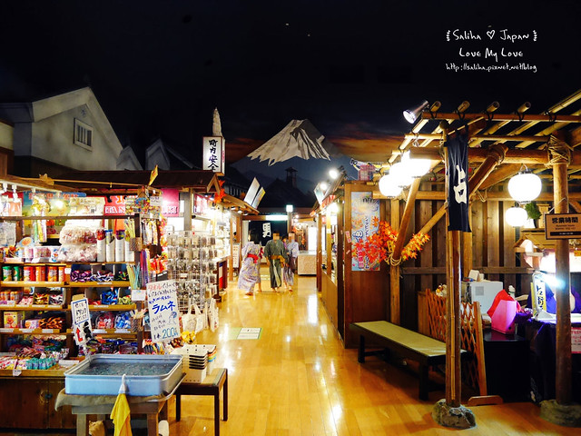 大江戶溫泉物語餐廳美食街吃飯 (7)