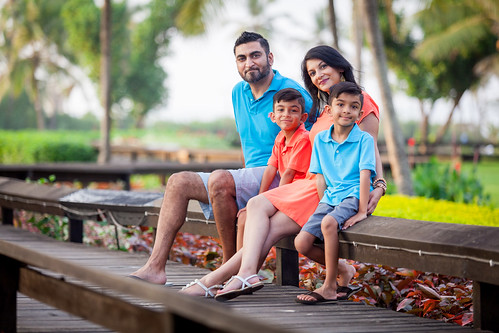 The Patel's Family Shoot at Arossim Beach, Goa