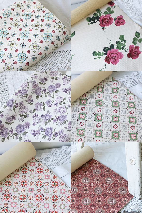 pattern crush : vintage wallpaper prints | Emma Lamb