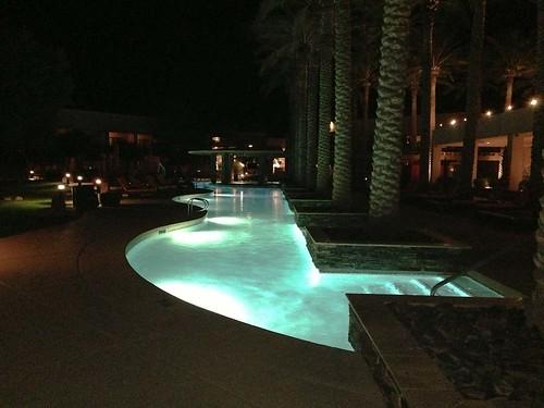 arizona usa pool night hotel swimmingpool harrahs maricopa akchin