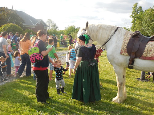 Ostrander Branch Library Medieval Faire
