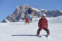 Nekupujte dětem lyže, za chvíli jim budou malé
