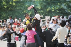 The Athletic Festival in Elementary School.