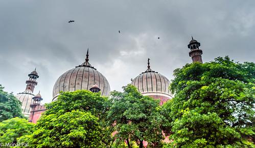 Jama Masjid   Delhi   Ramadan   Monsoon in India