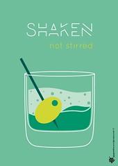 Shaken not stirred poster