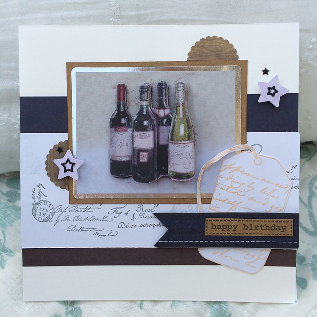 Wine card by StickerKitten