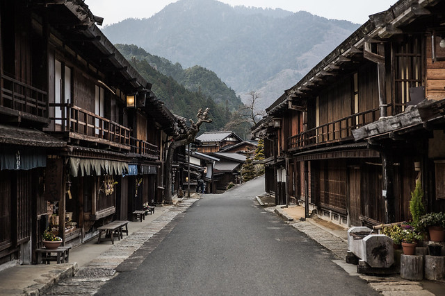 japan | kiso valley, tsumago