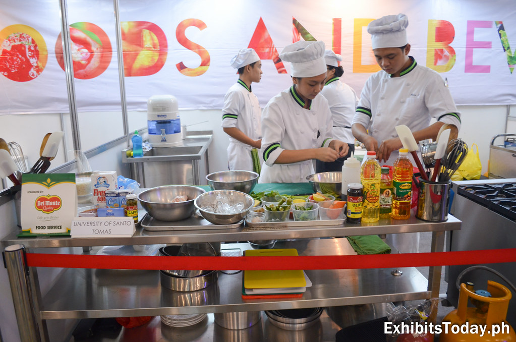 University of Santo Tomas Culinary Students Contestants
