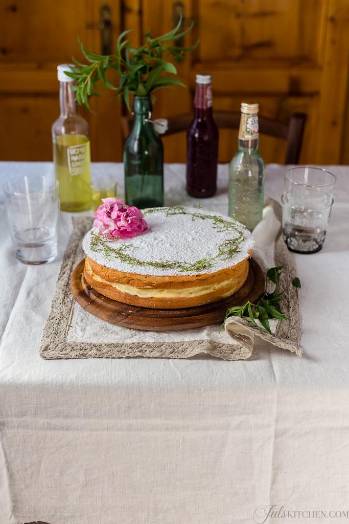 Pasta margherita al limoncello