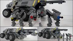 'Vantage' medium armored transport - deploying drones