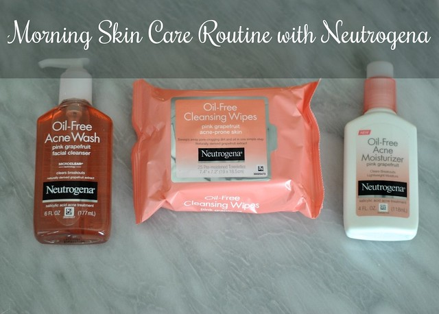 Morning Skin Care Routine with Neutrogena - Head to Toe Chic