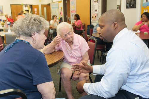 Senator Winfield Visits West Haven Seniors to Discuss CARE Act