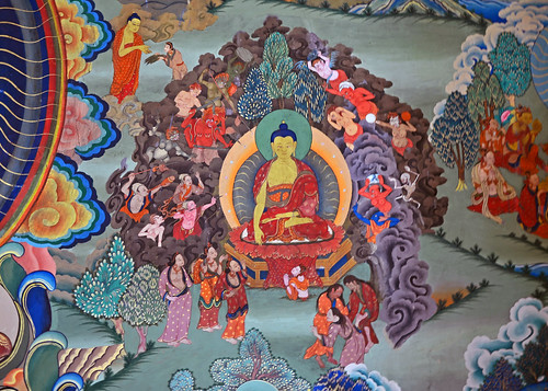ladakh hemismonastery muralpaintings jammuandkashmir indiantourism tantricbuddhism tourismofindia