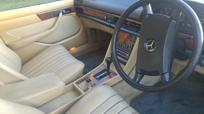 1986 300SE W126