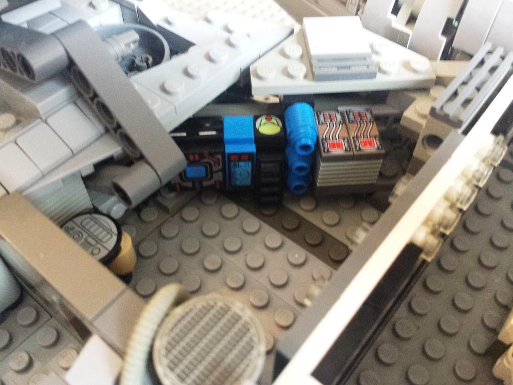 Lego Millennium Falcon interior life support