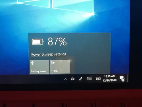 ชาร์จแบต Surface Pro 3 คืนได้ประมาณ 75%