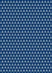 swatch triangle blue A4 lr