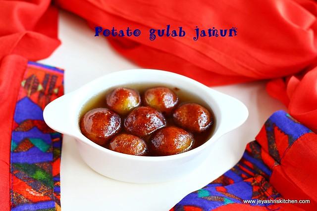 Potato gulab-jamun