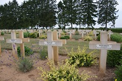 French wargraves at Cerny-en-Laonnois (France 2015)
