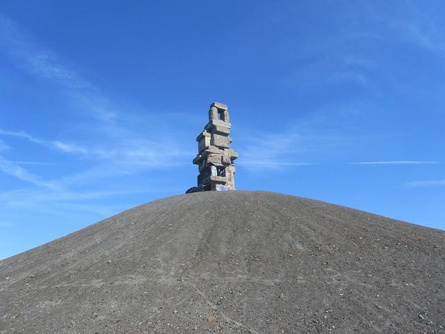 Himmelstreppe auf Halde Rheinelbe