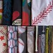 Take Me Out to the Ballgame Design Challenge Top Ten Winners by Spoonflower Fabrics