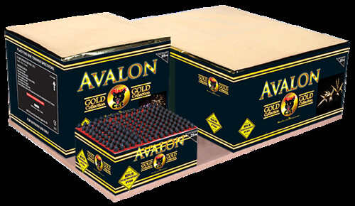 Avalon Compound Cake by Black Cat Fireworks