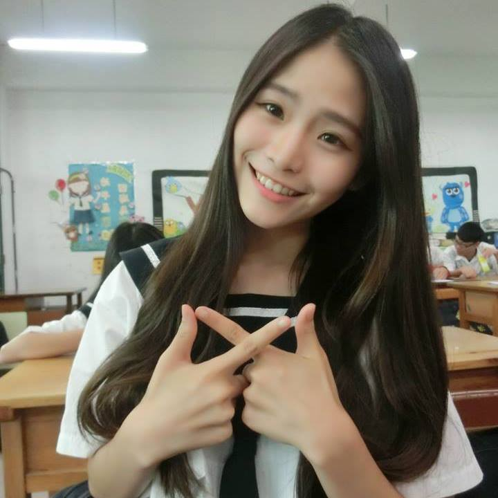 Koobii人氣嚴選130【治平高中-范曉琳】- 長髮飄逸的韓系正妹