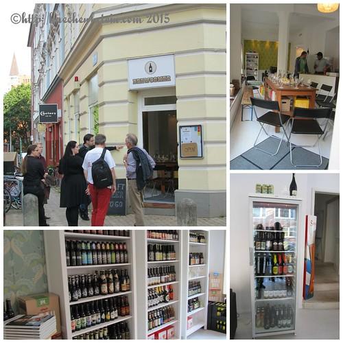 ©Collage Craft-Beer-Laden Brewcomer Kiel