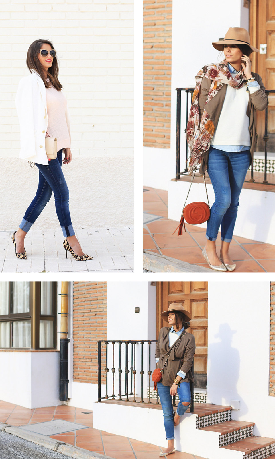 DEF jeans premamá azules