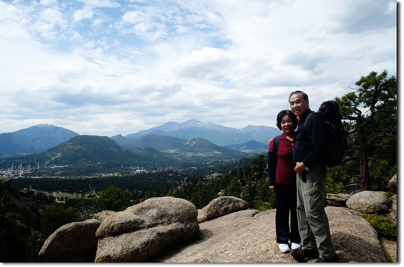 Taken from Lumpy Ridge Trail viewpoint 4