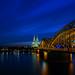 Cologne Blue Hour von ZerroN