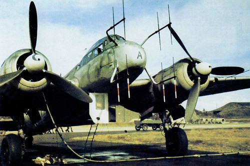 Junkers Ju-88 Night Fighter.