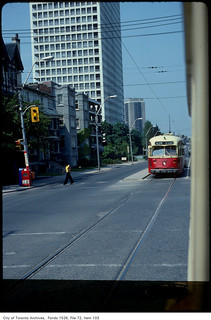 St. Clair Avenue, looking west from Spadina Road