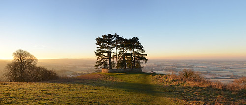wotton under edge hill trees view viewpoint panorama nikon d7000 winter sun sunshine sunrise glos gloucestershire kingswood cotswold way path