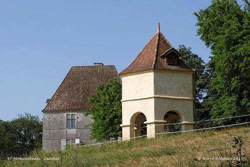 47 Moncrabeau - Lescout (Chât)