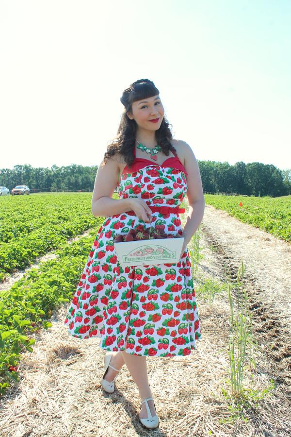 strawberry dress