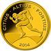 Rio 2016 guldmønt - Citius