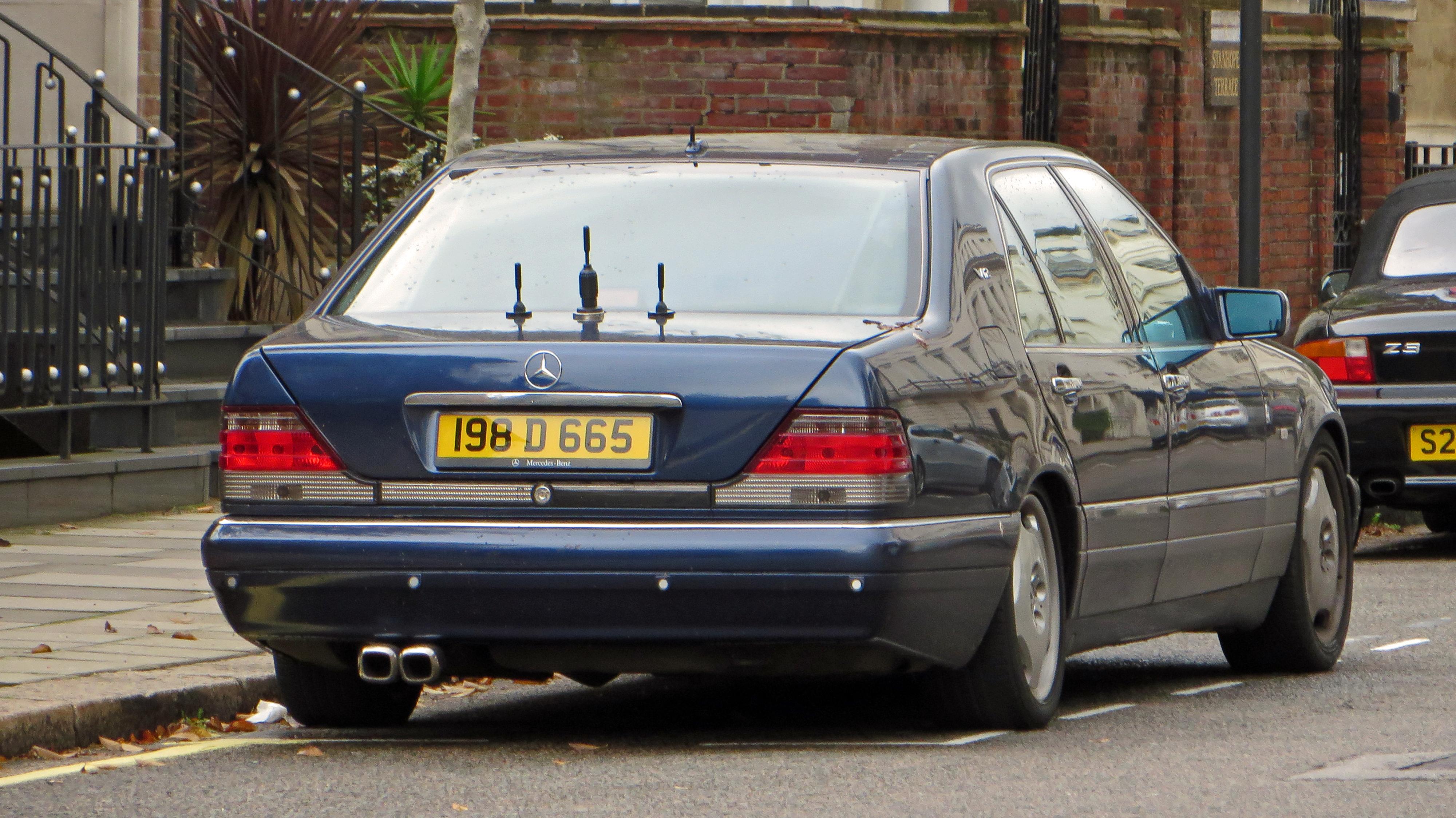 City of westminster london uk 1996 1998 mercedes benz for Mercedes benz westminster