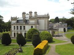 Dyffryn House - Dyffryn Gardens -  from the Rockery