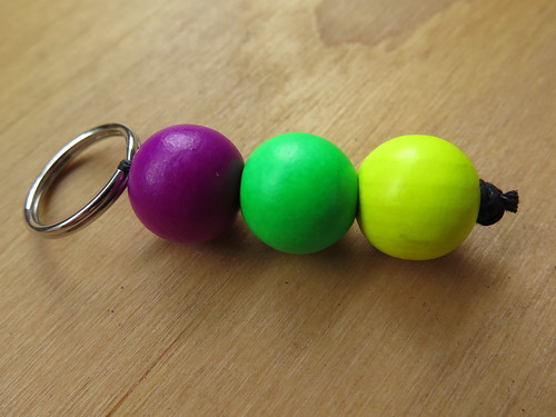 The easiest DIY keychains ever